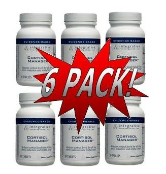 ITI Integrative Therapeutics - Cortisol Manager (30 Tablets) 6 Pack (CM30)