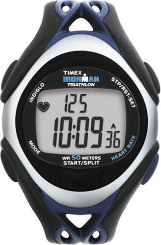 Timex Ironman T5C411 Unisex 30-Lap Digital Fitness Heart Rate Monitor Watch
