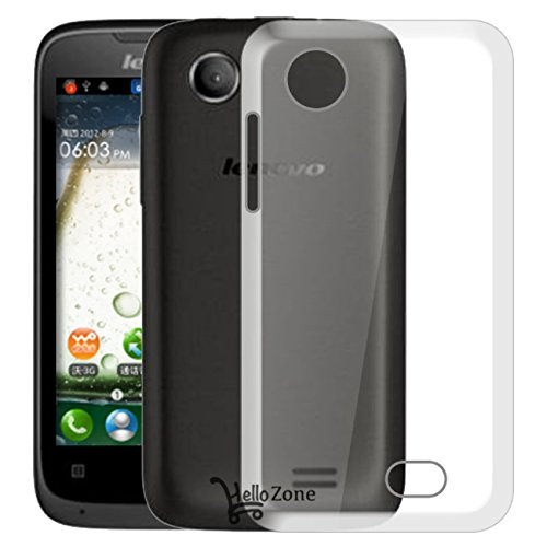 Hello Zone Exclusive Soft Transparent Crystal Clear Back Cover Back Case Cover For Lenovo A369i  available at amazon for Rs.149