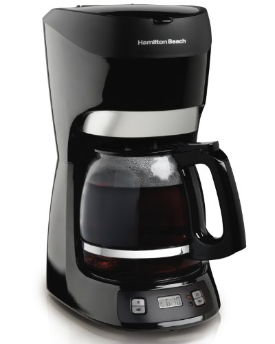 Hamilton Beach 12-Cup Coffee Maker with Digital Clock (49467)