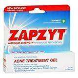 Wlatman Pharmaceuticals Zapzyt Acne Treatment Gel, 1 Oz
