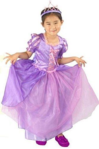 Tangled Princess Rapunzel's Style Costume (Size:S) プリンセス塔の上のラプンツェル風 衣装 (S)
