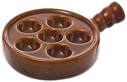 Browne (744045) 6-Hole Escargot Plate