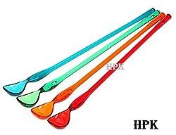 HPK 4 Pcs Drink Stirrer Muddler Spoons
