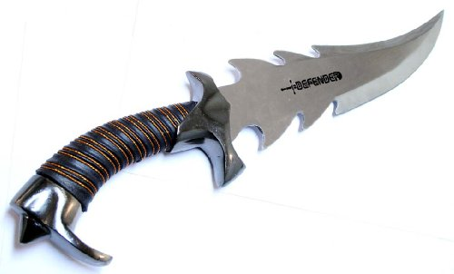 """14"""" Collectible Fantacy Dagger With Leather Sheath Stainless Steel"""