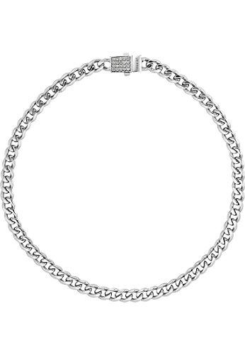 JETTE Silver Damen-Collier 925er Silber rhodiniert 40 Zirkonia silber, One Size