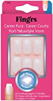 Fing'rs - 1296X4 - Faux Ongles - 28 Ongles Courts Career Naturels à Coller
