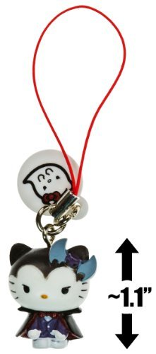 "Hello Kitty Vampire ~1.1"" Monster Collection Mini-Figure Dangler Series - 1"