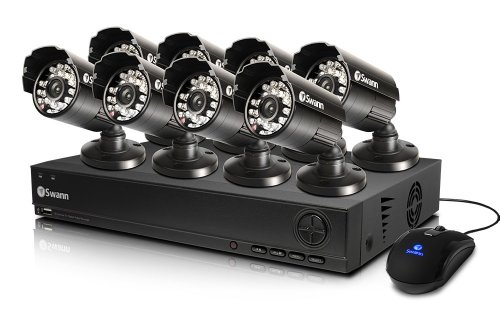 Why Choose Swann SWDVK-825558-US 8-Channel DVR and 8 x 540 TVL Cameras (Black)