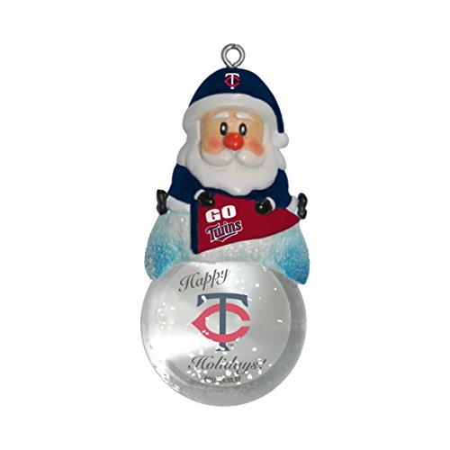 MLB Minnesota Twins Snow Globe Ornament