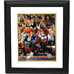 Isiah Thomas Autographed Hand Signed Detroit Pistons 8x10 Photo (white jersey silver... by Hall of Fame Memorabilia