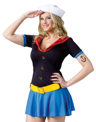 Ms. Popeye Adult Costume