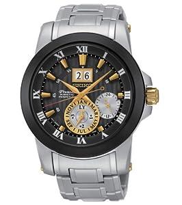 New Seiko SNP129 Premier Kinetic Novak Djokovic Special Edition Men's Watch