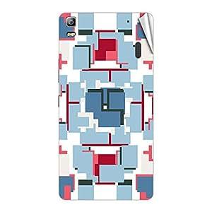 Garmor Designer Mobile Skin Sticker For Lenovo S850 - Mobile Sticker