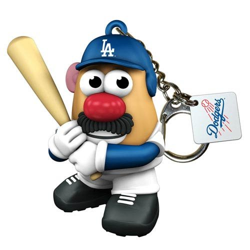 Mlb Los Angeles Dodgers Mr Potato Head Keychain front-769843