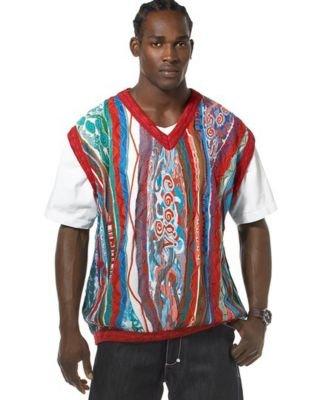 Coogi Biggie's Word Sweater Vest - Buy Coogi Biggie's Word Sweater Vest - Purchase Coogi Biggie's Word Sweater Vest (Coogi, Coogi Sweaters, Coogi Mens Sweaters, Apparel, Departments, Men, Sweaters, Mens Sweaters)