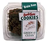 Sam's Yams Cookies Sweet Potato Dog Treats, Green and Clean, 6-Ounce