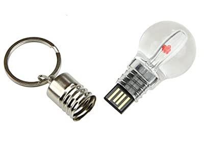 4GB Light Bulb USB Flash Memory Drive by JellyFlash