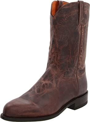 Buy Lucchese Classics Mens M1015 Boot,Stone Madras Goat,9.5 EE (W) US by Lucchese