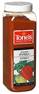 Tone Paprika, Spanish, 18-Ounce Boxes