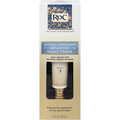 RoC Retinol Correxion Sensitive Night Cream, 1 Oz (Roc Wrinkle Cream compare prices)