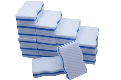 ltwhome-magic-eraser-kitchen-dish-scrubber-dual-sided-cleaning-melamine-foam-100x-60x-25mm-pack-of-2