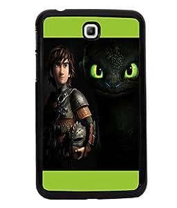 printtech Disney Dragon Back Case Cover for Samsung Galaxy Tab 3 7.0 :: Samsung Galaxy Tab 3 T211 P3200