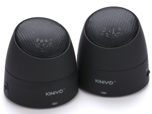 Kinivo Zx220 Portable Twin Speakers With Rechargeable Battery