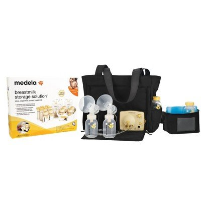 Medela Pump In Style Advanced Breast Pump And Storage Starter Kit Bundle - Nursery Necessity - Baby Products - Pump In Style Has Helped Breastfeeding Moms Provide What'S Best For Their Babies