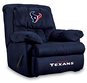 NFL Houston Texans Home Team Microfiber Recliner by Imperial