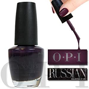 OPI Nail Lacquer, Siberian Nights, 0.5 Ounce