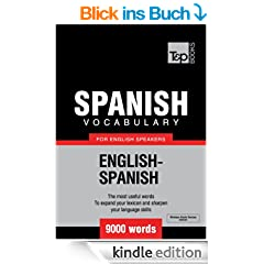 Spanish Vocabulary for English Speakers - 9000 Words (T&P Books) (English Edition)