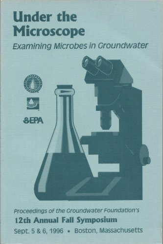 Under The Microscope: Examining Microbes In Groundwater