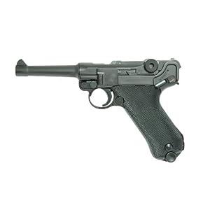 ルガー P08 4インチ HW (18歳以上ガスブローバック)