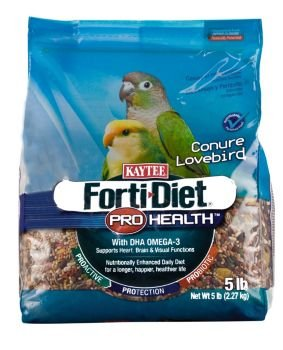 Cheap Kaytee Forti-Diet Bird Food Conure/Lovebird 25lb (100502 118)