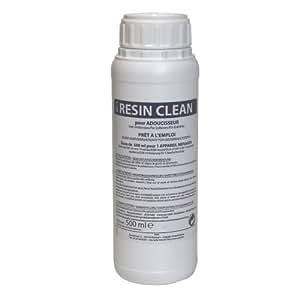 Nettoyant résine adoucisseur désinfectant Resin Clean 500 mL