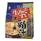 旭松食品 生みそずい生タイプ 粕汁4食【袋入】 8袋