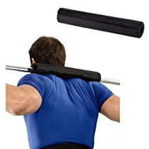 Enjoydeal Barbell Pad Supports Squat Bar Weight Lifting Pull Up Gripper Neck Shoulder Protective Pad