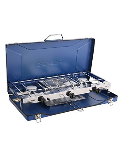 campingaz-chef-folding-double-burner-stove-and-grill-blue