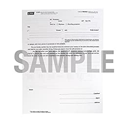 Blumberg New York Notice to Tenant Forms Form 307, 8.5 X 11, 48 per Package