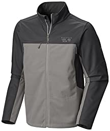 Mountain Hardwear Peak Tech Jacket - Men\'s Titanium/Shark Large