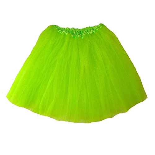 Southern Wrag Company Big Girls Long Tutu Lime Waist 18-36 Length 16-17