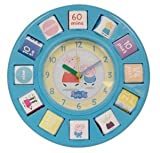 Peppa Pig Rotating Blocks Time Teaching Clock