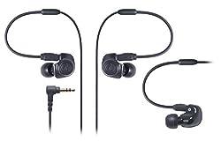 audio-technica IM Series カナル型モニターイヤホン デュアル・シンフォニックドライバー ブラック ATH-IM50 BK