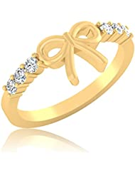 IskiUski 925 Sterling Silver Diamond Solitaire Engagement Ring For Women