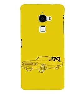 EPICCASE Vintage car 1973 Mobile Back Case Cover For LeTV Le Max (Designer Case)