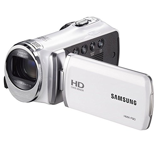 Cheapest Price! Samsung F90 - HD Camcorder - 2.7-inch LCD Screen, 52X Optical Zoom, HD Video Recordi...