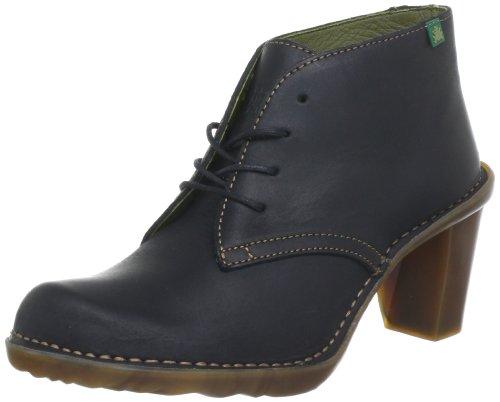 El Naturalista Womens Duna Black Boots N523 7 UK, 40 EU