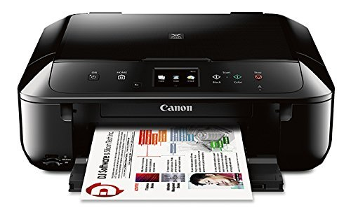 Canon Mg6820 Wireless All-in-one Printer With Scanner And Copier: Mobile And Tablet Printing With Airprint(tm) And Google Cloud Print Compatible, Black