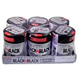 ロッテ ワンプッシュボトル ブラックブラック粒 チューインガム Lotte Black☆Black 150g×6ヶセット